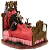 WDCC Disney ClassicsOne Hundred and One Dalmatians Cruella Devil In Bed It's That De Vil Woman