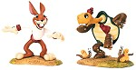WDCC Disney ClassicsThe Tortoise And The Hare Max Hare & Toby Tortoise