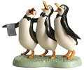 WDCC Disney Classics Penguin Trio Anything for You, Mary Poppins From Mary Poppins