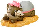 WDCC Disney Classics Dumbo And Mrs Jumbo Baby Of Mine with Lithograph