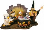 WDCC Disney ClassicsTrick Or Treat Witch Hazel Brewing Up Trouble Complete Set