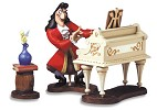 WDCC Disney ClassicsPeter Pan Captain Hook And Tinker Bell Accompaniment To Betrayal