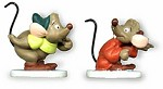 WDCC Disney ClassicsCinderella Gus And Jaq Miniatures One Mouse Or Two