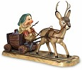 WDCC Disney ClassicsSnow White Sleepy with Deer Drawn Cart In a Mine In a Mine