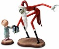 WDCC Disney Classics The Nightmare Before Christmas Santa Jack And Timmy A Ghoulish Gift