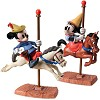 WDCC Disney Classics Brave Little Taylor Mickey And Minnie Mouse Carousel Sweethearts