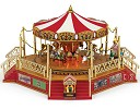 Gold Label Worlds Fair Carousel With Boardwalk